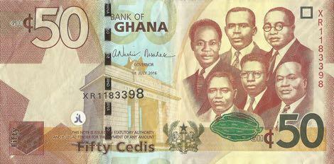 50 Ghana Cedis