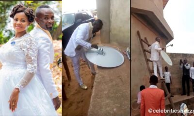Groom leaves wife waiting in church while he goes to fix client's DStv on their wedding day