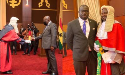 President Akufo-Addo Exposed After Swearing In An NPP Constituency Chairman As Supreme Court Judge
