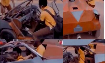 BECE Students Seen Driving In A Bugatti To Exams Centre To Write Final Paper