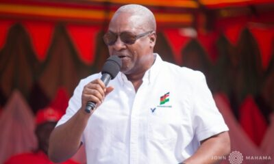 Akufo-Addo has nothing to show for Ghc 154 Billion he borrowed just within 3 years – John Mahama fires