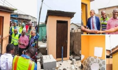 Accra mayor who commissioned 'one seat toilet' says Mahama gave Ghanaians four years of dumsor so they should reject him