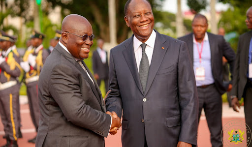See how Ivorians Blast Akufo-Addo for congratulating Alassane Ouattara after changing the constitution