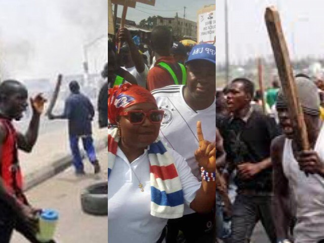 This Video Shows How NPP Supporters Destroyed Cars And Properties In 2012 While Demonstrating Against Election Results