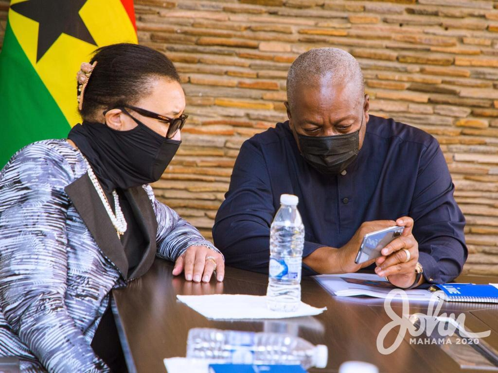 Mahama Presents Evidence Of Alleged Electoral Fraud To US Ambassador, Other International Bodies