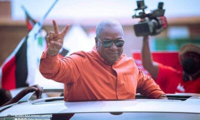 NDC Declares Mahama President Elect; To Address Nation 8PM Tonight