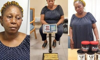 NDLEA Arrests Italy-bound 53-year-old Woman With 100 Wraps Of Heroin